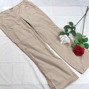 Tommy Hilfiger Khaki Roll up Convertible Pants 10
